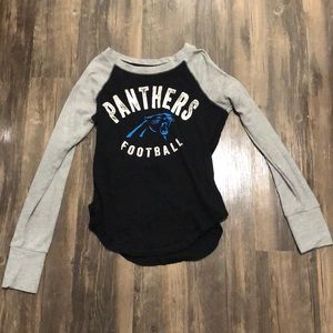Long sleeve Panthers t shirt